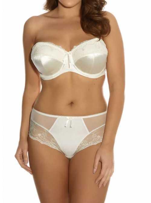 Culotte grande taille d'Elomi MARIA EL8505 Blanc